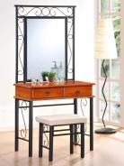 Toaletný stolík CEBU so zrkadlom