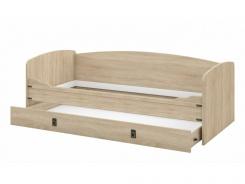 Detská posteľ s úložným priestorom TORRO 90x200 - dub sonoma