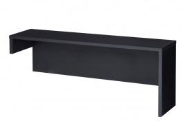 Nástavec k televíznemu stolíku VIEVIEN 25 - dub koňak / čierny mat