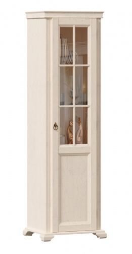 Vitrína 1-dverová Annie, pravá - dub provence