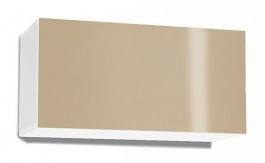 Závesná skrinka REA Rebecca 7 s lesklými dvierkami - biela