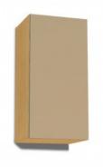 Závesná skrinka REA Rebecca 9 s lesklými dvierkami - buk