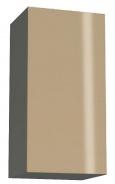 Závesná skrinka REA Rebecca 9 s lesklými dvierkami - graphite