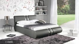Čalúnená posteľ COMBI s roštom