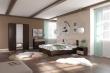 Spálňa AVRORA 4, s posteľou 160x200cm - wenge