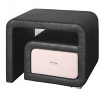 Nočný stolík čalúnený ST2 L / P - ekokoža