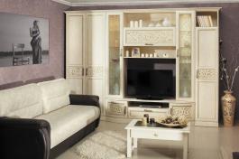 Zostava do obývacej izby Sofia II - béžová/lento