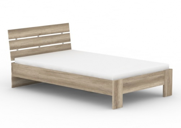Študentská posteľ REA Nasťa 120x200cm - dub canyon
