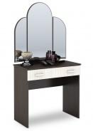 Toaletný stolík Basia - dub belfort/wenge