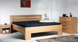 Masívna posteľ s úložným priestorom Varezza 3