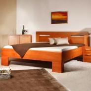 Masívna posteľ s úložným priestorom Varezza 5