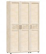 Trojdverová zostava skríň s plnými dverami do predsiene Sofia - béžová/lento