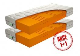 Partnerský matrac Caliopa 1+1 Zdarma - 90x200cm