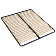 Drevený lamelový rošt v kovovom ráme Slat FIX