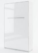 Výklopná posteľ 120 Concept PRO CP-02P biela lesk / biela mat