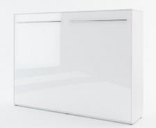Výklopná posteľ 90 Concept PRO CP-06P biela lesk / biela mat