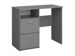 Písací stôl Amenity - tmavo šedá