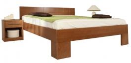 Masívna posteľ s úložným priestorom Varezza 6B (v.44cm) - 160/180 x 200cm - výber odtienov