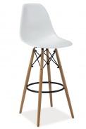 Barová stolička ENZO H1 biela