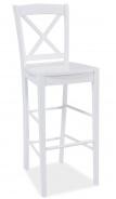 Barová stolička CD-964 biela