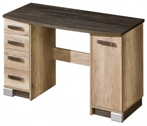 Písací stôl Denver - dub canyon/arusha