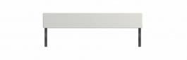 Zábrana k jednolôžku Dany II - biela