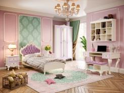 Veľká dievčenská izba Comtesa - alabaster/fialová