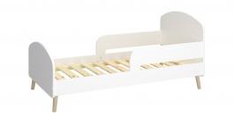 Detská posteľ Mokiana 70x140cm - biela/masív