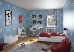 Detská izba Mokiana - biela/masív