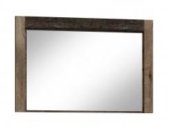Zrkadlo INDIANAPOLIS I-12 jaseň tmavý
