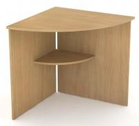Rohový stôl REA Office 66 - buk
