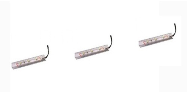 Osvetlenie k vitríne LED 3x (Z3ND70 / 3P / BI)