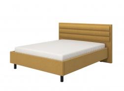Manželská posteľ 160x200cm Corey - žltá/čierne nohy