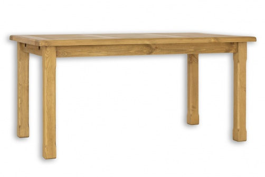 Drevený jedálenský stôl 80x120cm MES 02 -výber morenie