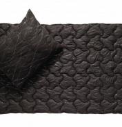 Vankúš Metallic čierna 70x90cm