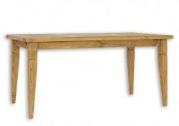 Jedálenský sedliacky stôl masív 90x160 MES 03B - výber morenia
