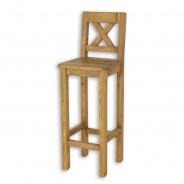 Barová stolička masív SIL 23 - výber morenia
