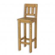 Barová stolička z masívu SIL 10 - výber morenia