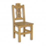 Sedliacka stolička z masívu SIL 24 - výber morenia