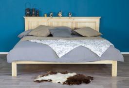 Masívna posteľ 90x200 ACC 01 - výber morenia