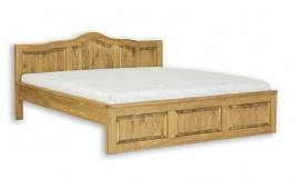 Masívna posteľ 140x200cm ACC 04 - výber morenia