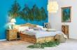Masívna posteľ 160x200cm ACC 04 - výber morenia