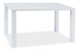 Jedálenský stôl MONTEGO 120x80cm - biely lesk