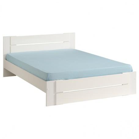 Študentská posteľ Amanda 140x190cm - biela