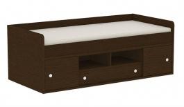 Detská posteľ REA Poppo - wenge - výber čiel