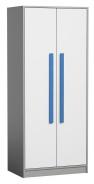 Šatná skriňa GYT 1 antracit /biela/modrá