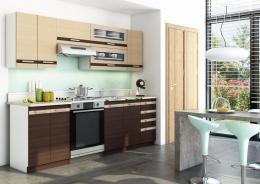 Kuchyňa DARK LATTE BIS 240 s výklopom