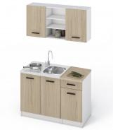 Kuchyňa JANA 120 dub sonoma / biela