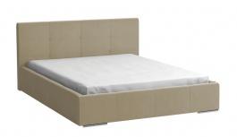 Čalúnená posteľ Mediolan 140x200 béžová