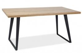 Jedálenský stôl FALCON 150 cm dub masív